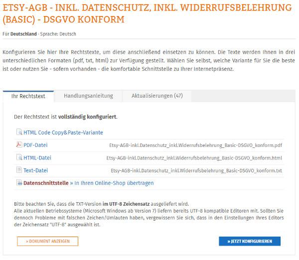 9d64667a9b1bd0 (Sollten Sie diesen Rechtstext noch nicht konfiguriert haben, so klicken  Sie bitte auf den Button