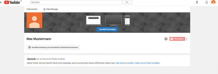 Anleitung Zur Erstellung Eines Youtube Impressums