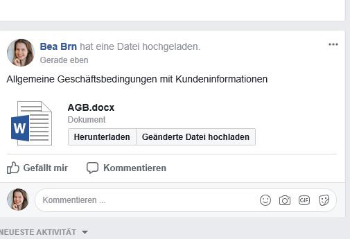 Facebook Gruppen Agb Widerrufsbelehrung Und Datenschutzerklärung