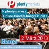 6. plentymarkets Online-Händler-Kongress 2013