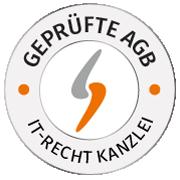 AGB- und Copyright-Logos: Vertrauen bilden