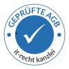 AGB-Prüfzeichen der IT-Recht Kanzlei