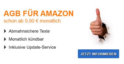 AGB für Amazon