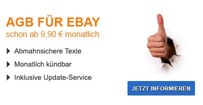 AGB für eBay