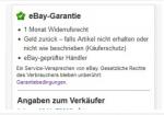 """Abmahnproblematik bei der """"eBay Garantie"""" wurde entschärft"""
