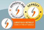 Alles neu macht der Mai: Überarbeitete Prüfzeichen/Logos für Mandanten der IT-Recht Kanzlei