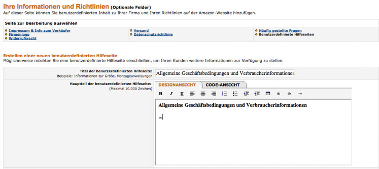 Amazon Einbindung 3