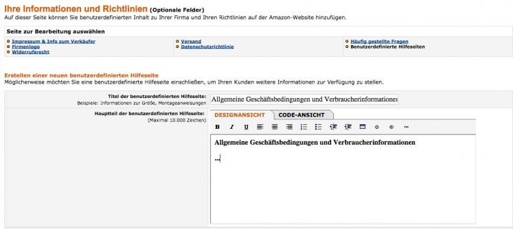 Amazon Einbindung 3