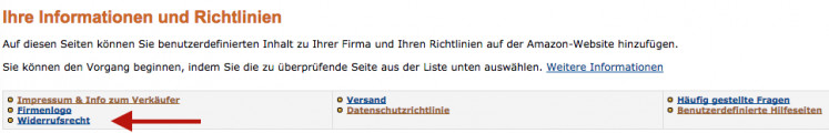 Amazon Einbindung 9