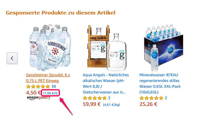 Amazon Grundpreis 3