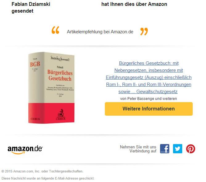 Amazon Weiterempfehlung3