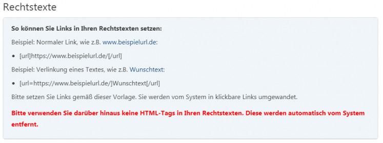 Anleitung real.de zum Setzen eines Links