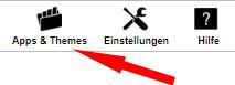 Auswahl Apps im Telekom Shop