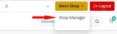 Auswahl Shop-Manager bei kasuwa