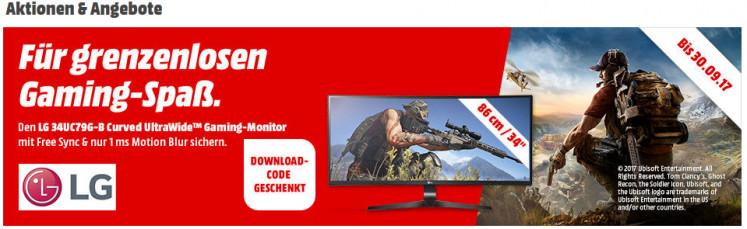 Banner im Online-Shop