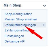 Delcampe - Auswahl Mein Shop - Verkaufsbedingungen