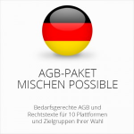Exklusiv auf ecommerce-agb: Unser AGB-Paket Mischen Possible