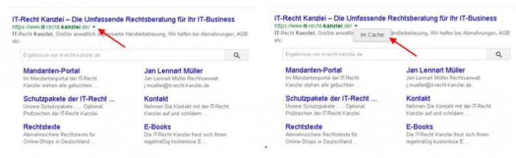 Google Cache 1