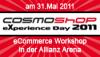 IT-Recht Kanzlei auf dem CosmoShop eXperience Day am 31. Mai 2011 in München