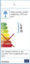 Lampen sind in Leuchten fest verbaut: Wie sieht es mit der Kennzeichnungspflicht aus?