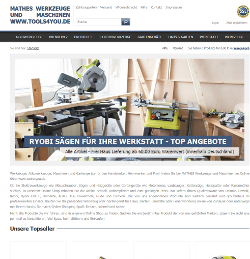 MATHES Werkzeuge und Maschinen