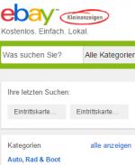OLG Brandenburg: Fernabsatzrechtliche Informationspflichten müssen in einer eBay-Kleinanzeige nicht bereitstehen, ABER …