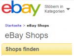 """Problematik bei eBay.de: Notwendigkeit eines eigenen Impressums im Rahmen eines """"eBay-Shops"""""""