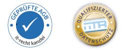 Prüfzeichen und Logos
