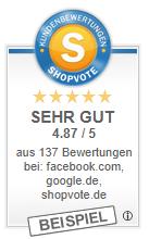 RatingStars: Bewertungssterne und Note in den organischen Google-Suchergebnissen