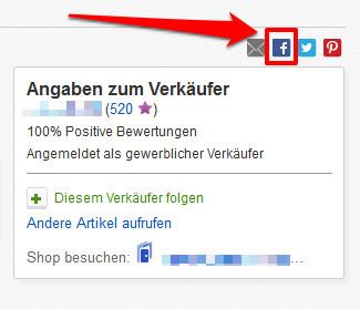 Social Plugin auf eBay