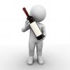 Stilblüte oder Etikettenschwindel? Abbildungen auf Getränke-Etiketten gelten mitunter als Inhaltsangabe