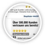 Tipp: VotesAPI - Die aktuellsten 25 Bewertungen per Datenabruf bei ShopVote