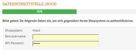 Verifizierung für den Hood-Account