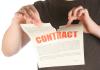 Vorsicht bei Vertragsunterzeichnung auf elektronischem Schreibtablett