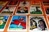 Wahrsagen und Kartenlegen: Spielkarten mit Copyright-Hinweis einer Kartenlegerin auf einer Internetseite kann irreführende Werbung sein