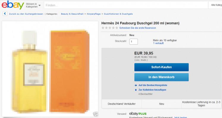 eBay Grundpreis