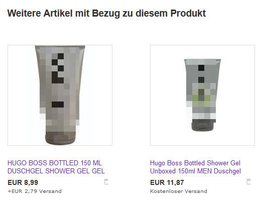 eBay Grundpreis Cross Selling 1