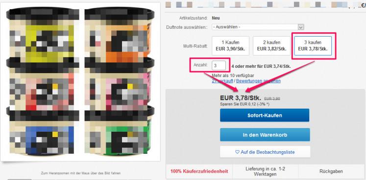 ebay gesamtpreisangabe